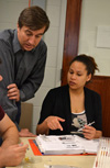 Joe Muskin and EnLiST teacher during professional development.
