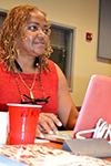 XSEDE Scholar Wanda Moses, a Ph.D. student in Computer Science at Clemson University