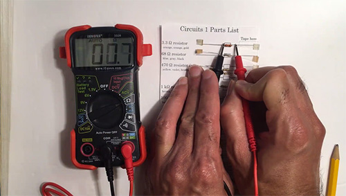 In a video, Goddard demonstrates how to do the circuit activity.